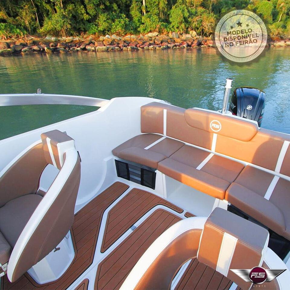 Nyhed FS Yacht 180BR med 100HK