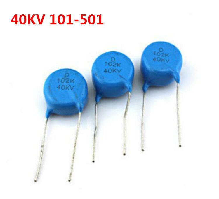 681K 10 Values 2KV High Voltage HV Ceramic Capacitor Assortment Kit 102K