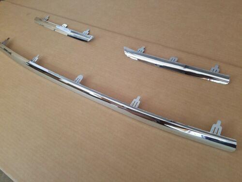 3PC Set 2009-2012 TOYOTA RAV4 LIMITED Grille Lower /& Middle Chrome Molding Trim