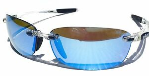 6c867ed4ae NEW  REVO DESCEND E CLEAR Frame w POLARIZED Blue Water Lens Sunglass ...