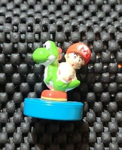 Vintage Nintendo Yoshis Island DS Stamp figures Mini Rare Promo  B. MARIO YOSHI