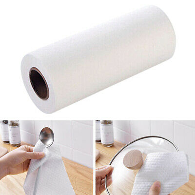 1 Roll Disposable Nonstick Wiping Rags