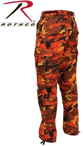 Rothco Camouflage Digital 6-Pocket Military Tactical BDU Cargo Fatigue Pants