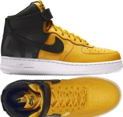 Air Force 1 High '07 LV8 Yellow ochre Black anthracite AV8364 700 Men's 11.5 | eBay