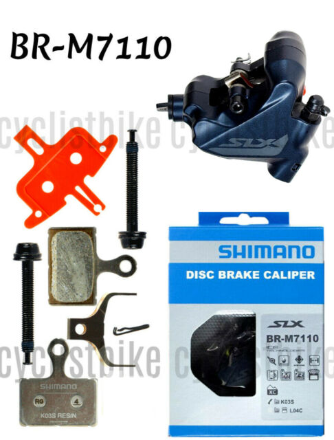 Shimano SLX BR-M7110 Hydraulic Flat Mount Disc Brake Caliper NIB