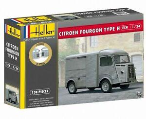 Citroen-type-H-Maquette-a-monter-Heller-fabrication-Francaise-neuve-echelle-1-24