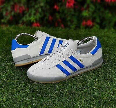 BNWB & Genuine adidas ® originals Jeans MkII Mk2 Grey Suede Trainers UK Size 10   eBay