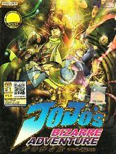JoJo's Bizarre Adventure Sea.1 (EP 1-26 End) DVD Anime Box Set *English Sub*