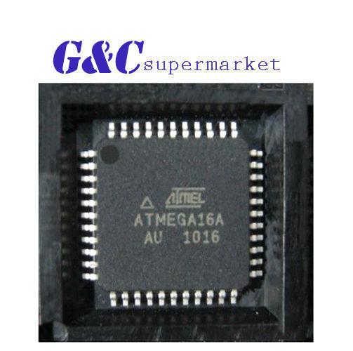 3PCS IC ATMEGA16A-AU TQFP-44  ATMEL  NEW GOOD QUALITY