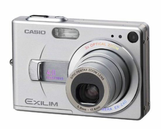 casio exilim zoom ex z40 4 0mp digital camera silver exz40s ebay rh ebay com Casio Digital Camera Manual Casio Exilim User Manual