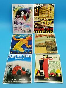 Metal-Vintage-Postcards-from-Zurich