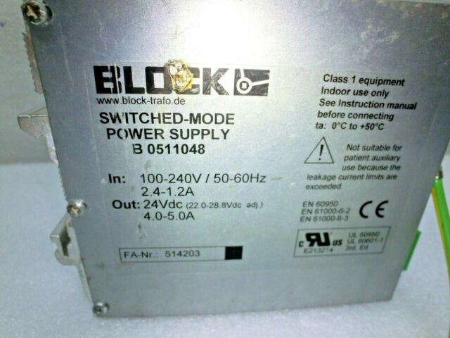 Philips Diagnostic BLOCK PSR 230//24-5 Switched Mode Power Supply for sale online