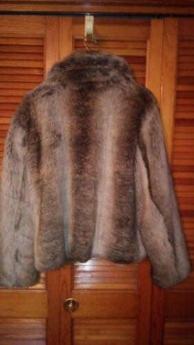 Smukke Faux And Short Unbranded Coat Cream Fur Brown PP5qr7gx
