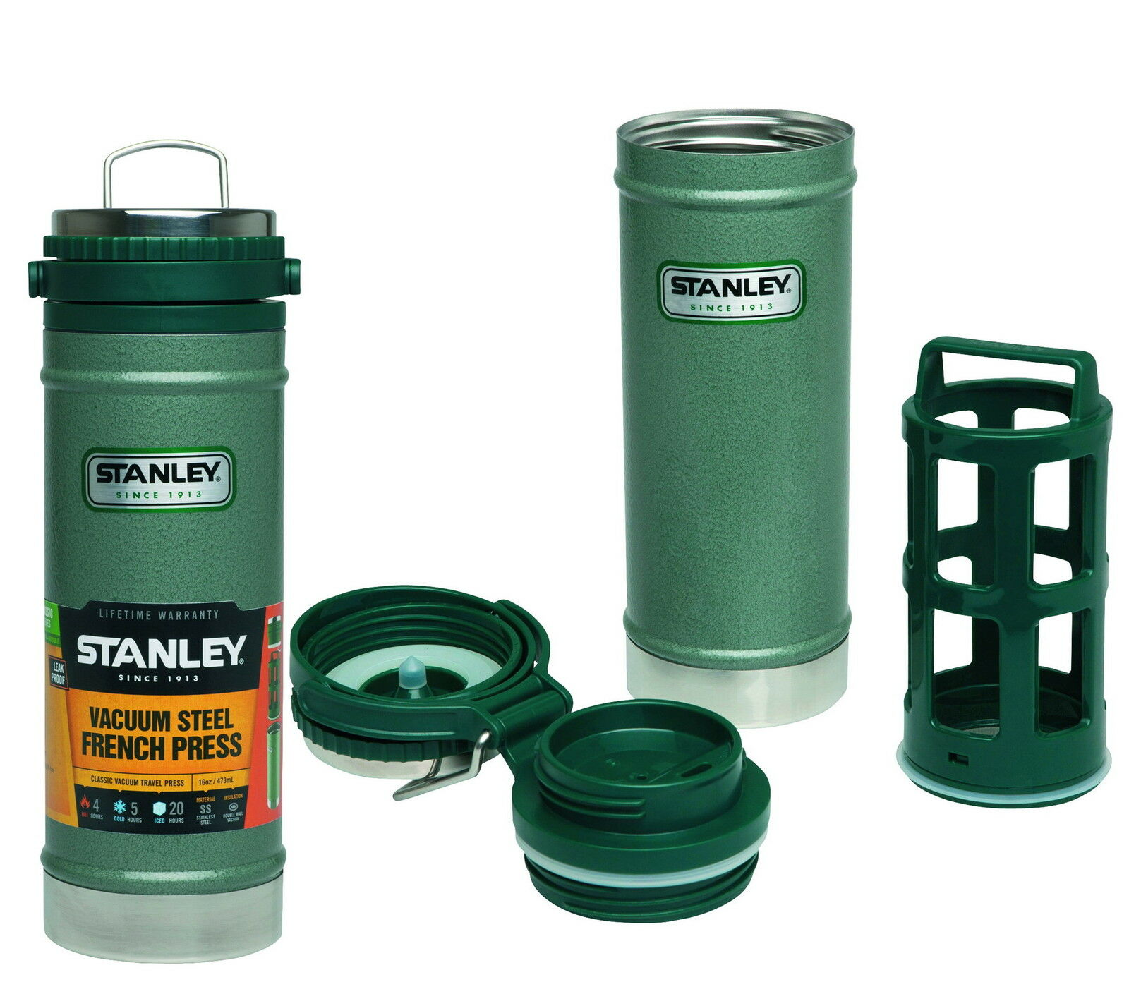 Stanley Classic Classic Classic Vacuum Travel Press Vakuum Trinkbecher Thermobecher - 654700 50e67b