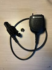 Motorola Public Safety Remote Microphone Rmn5073 Oem With Xts2500 Rf Adapter