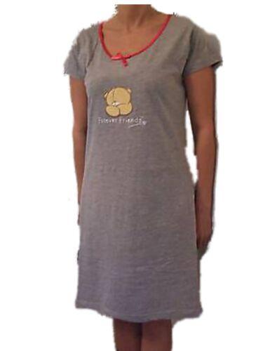 FOREVER FRIENDS NIGHT DRESS  SHIRT GREY 20260