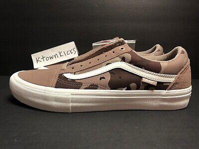 Vans Old Skool Pro Desert Camo Brown w Ultra Cush Men's Size 11 No Box Lid | eBay