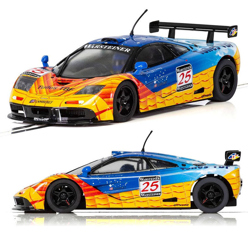 SCALEXTRIC Slot Car C3917 McLaren F1 GTR 1997 Nurburgring BBA Competition