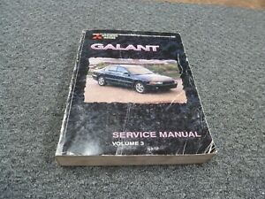 1999 Mitsubishi Galant Sedan Electrical Wiring Diagrams ...