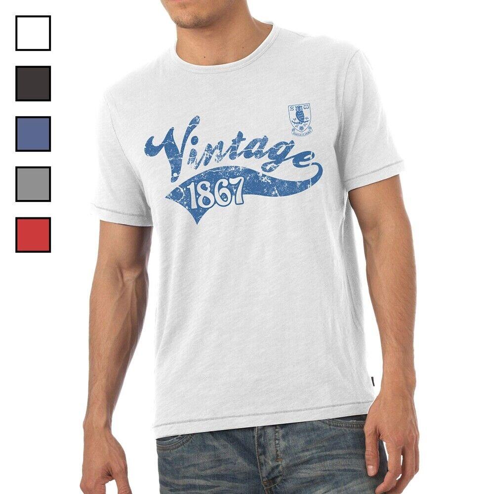 Sheffield Wednesday F.C - Personalised Mens T-Shirt (VINTAGE)