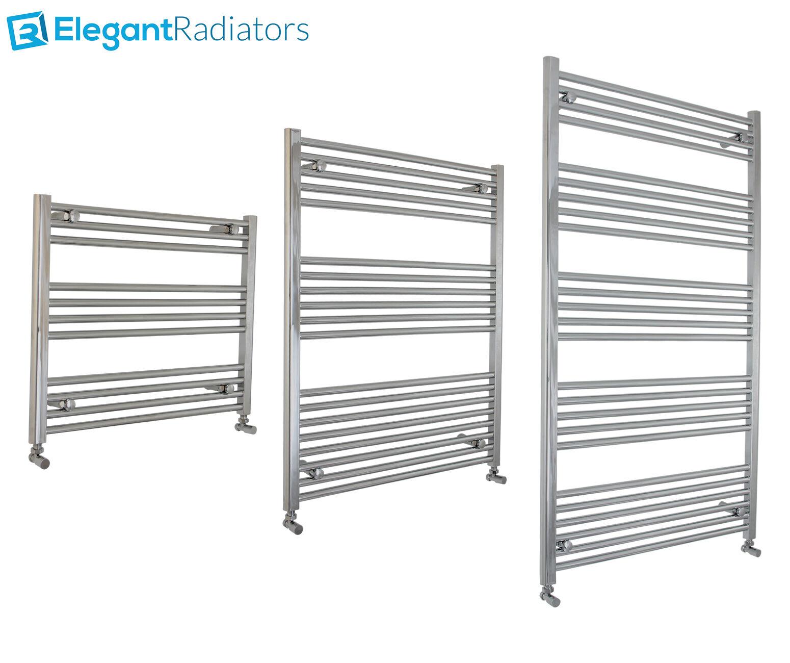 1000 mm de large échelle chrome porte-serviettes chauffant radiateur salle de bain design droite