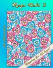 Mega Owls 3: Adult Colouring Book by Louise (Paperback / softback, 2015)