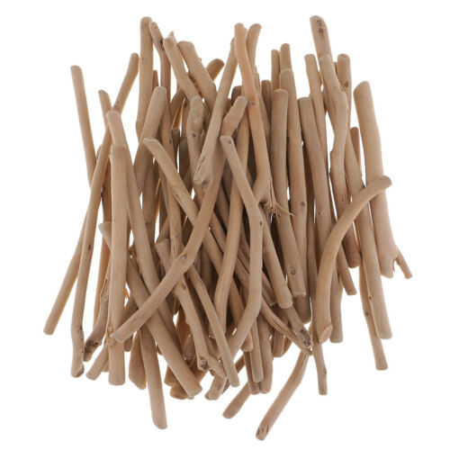 Blesiya 125g Mixed Driftwood Pieces Wood Craft Decorations DIY Home Weddings