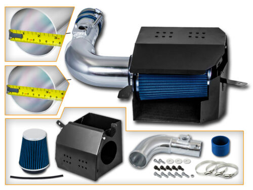 Cold Heat Shield Air Intake Kit BLUE For 13-18 FRS BRZ GT86 ZN6 ZC6 2.0L H4