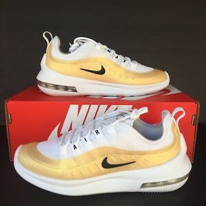 Details about Nike Womens Air Max Axis Running Shoes White Black Gold  AA2168 103 Select Size