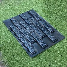 Mold RAGGY BRICK VENEER for Concrete Cement Plaster Wall Brick Tiles DYI