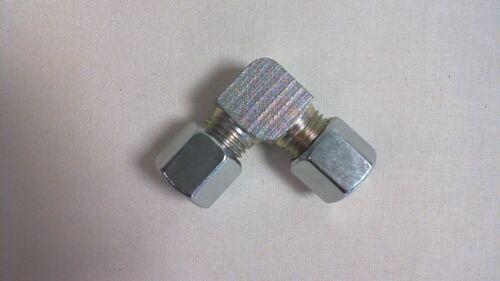 PARKER in acciaio zincato gomito idraulico Raccordo A Compressione Tubo w08lcf #8e209