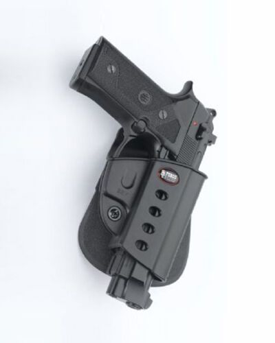 40 cal Beretta Vertec BRV Fobus Paddle Right Black Holster For Taurus PT92