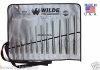 Wilde Tool RS912.NP VR Roll Spring Punch Set Vinyl Roll - Natural Finish - 12-Piece
