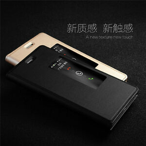 Brand-New-Leather-Flip-View-Window-Case-Cover-For-Phone-Huawei-Ascend-Honor