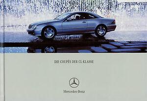 Mercedes-CL-Coupe-Prospekt-2002-9-02-Autoprospekt-brochure-prospectus-Katalog