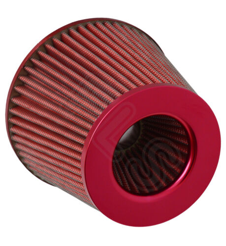 UNIVERSAL PERFORMANCE COLD AIR FEED PIPE AIR FILTER KIT RED 2103RF-BEE3