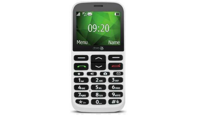 Vodafone Doro 1370 DFB-0210 - 16MB - White (Vodafone)