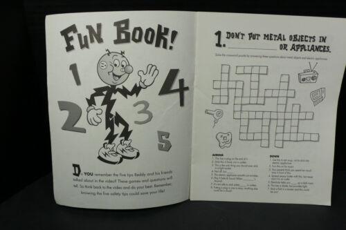 Vintage Reddy Kilowatt Promotional Premium Fun /& Activity Book for Kids