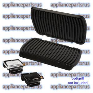Tefal-Optigrill-Upper-amp-Lower-Grill-Plate-Set-Part-TS01039390-amp-TS01039400