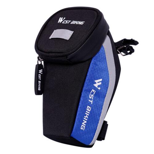 WEST BIKING Bicycle Bag MTB Reflective Rear Seatpost Bag Cycling Equipment #8Y