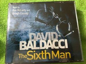 The Sixth Man, Audio Book, David Baldacci NEW SEALED