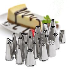 24pcs DIY Icing Piping Nozzles Cupcake Cake Sugarcraft Fondant Pastry Tips Decor