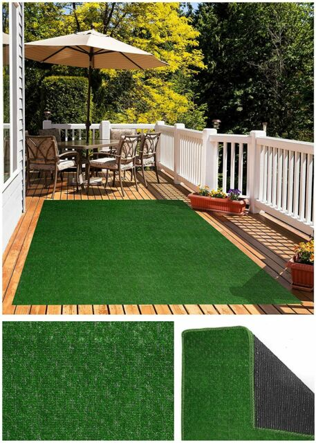 Artificial Grass For Dog Synturfmats Indoor Outdoor Green 4 X8 Decorative For Sale Online Ebay