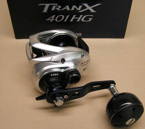 Shimano TranX 401 Hg bajo perfil Baitcasting Reel 7.6  1 Modelo TRX-401AHG