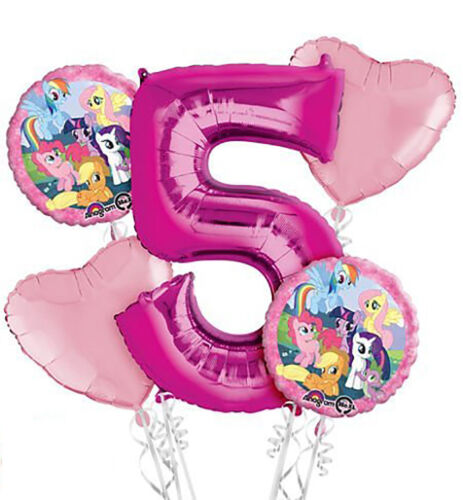 My Little Pony 5th Birthday Balloon Bouquet 5