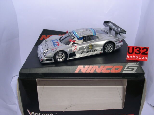 NINCO 50572 SLOT CAR MERCEDES CLK GT2 GTR #2 VINTAGE LIMITED SERIES MB