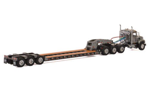 "Mack Granite Truck w// 3 Axle Rogers Lowboy Trailer /""GRAY/"" WSI #33-2013 1//50"