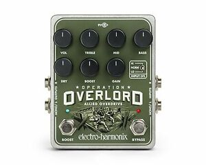 Intelligent Electro Harmonix Ehx Operation Overlord, Brand New In Box-afficher Le Titre D'origine
