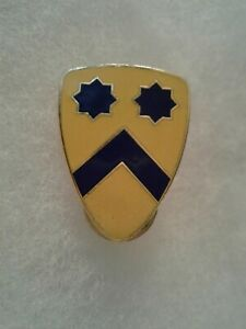 Authentic-US-Army-2nd-Cavalry-Division-Insignia-DUI-DI-Crest
