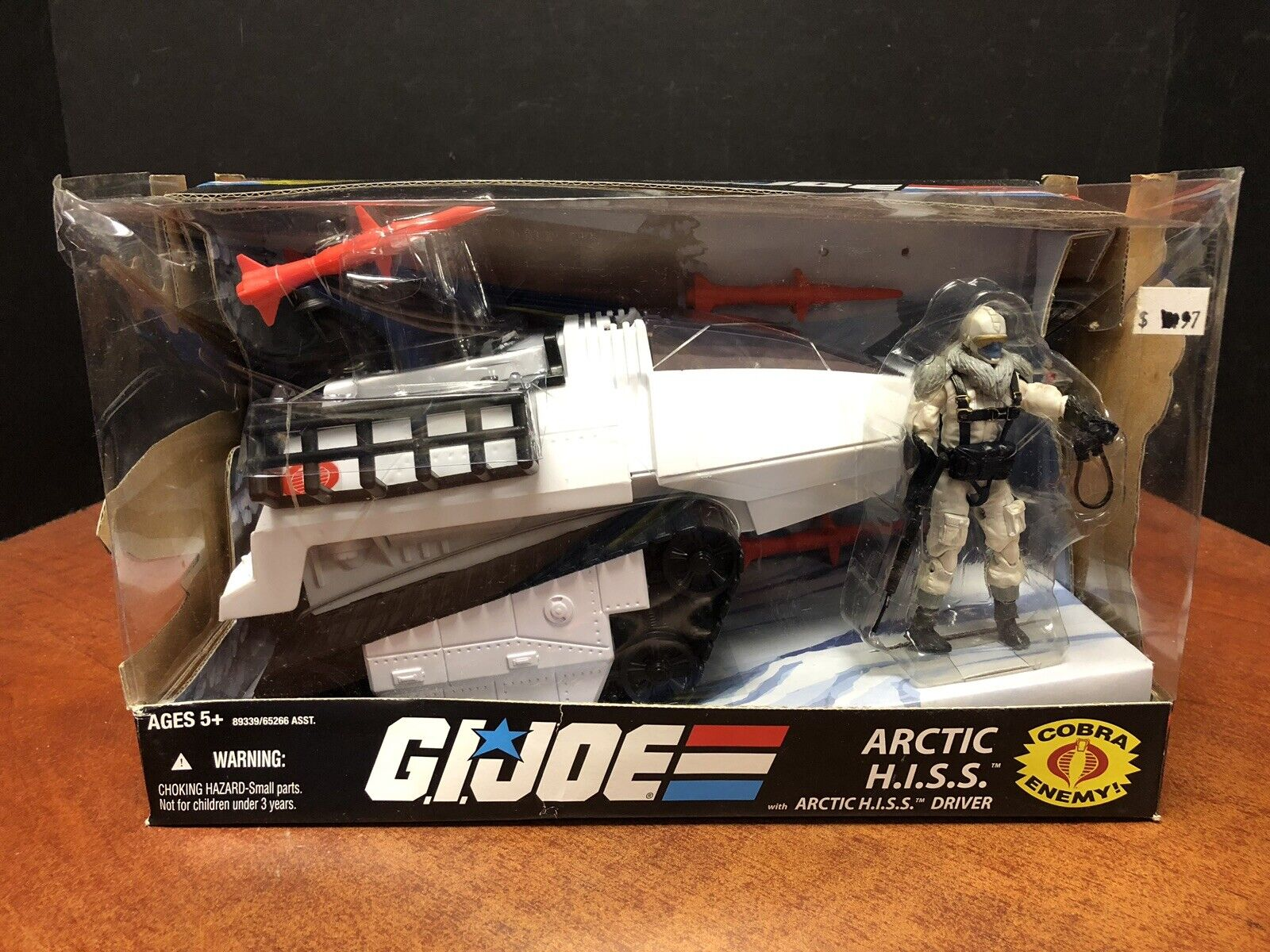 GI Joe 2008 Arctic HISS With Driver Dela0433